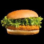 krokante kip burger